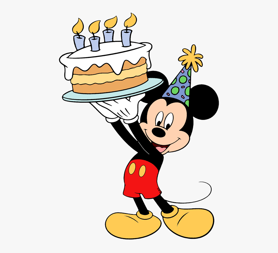 Fine Mickey Mouse Birthday Cake Mickey Mouse Birthday Transparent Funny Birthday Cards Online Fluifree Goldxyz