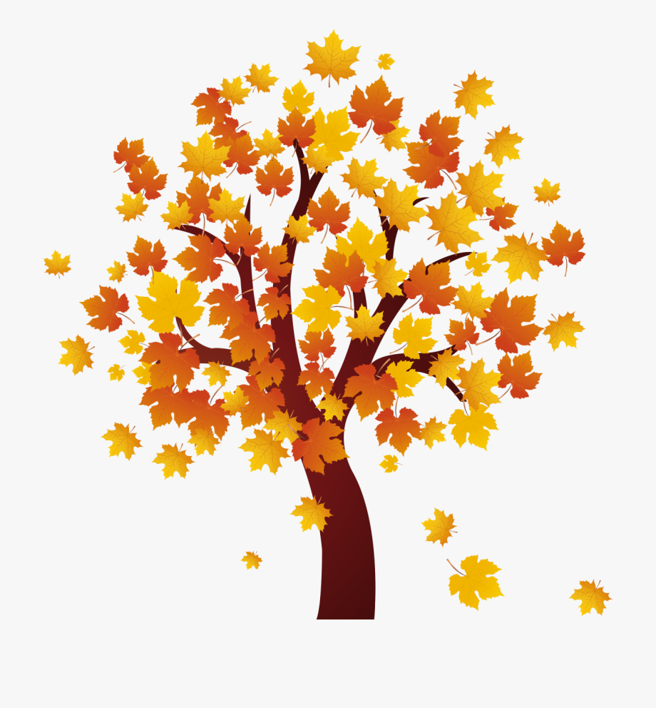 Fall cartoon. Autumn clip art clipart