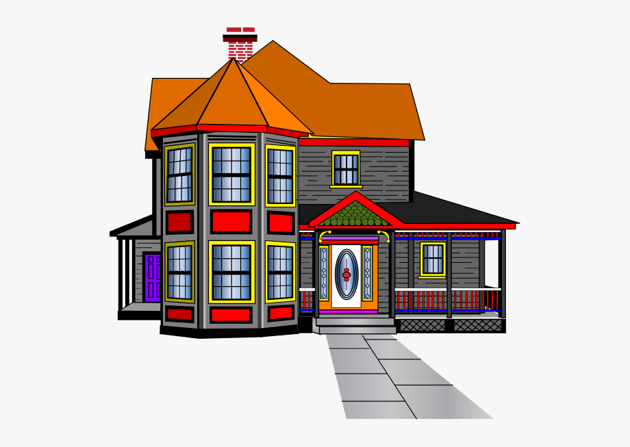 Big House Clipart House Clip Art Transparent Cartoon