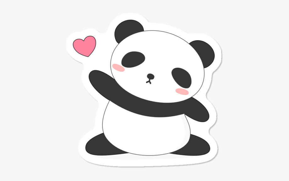 Kawaii Cute Panda Bear Panda Drawing Easy Cute Transparent