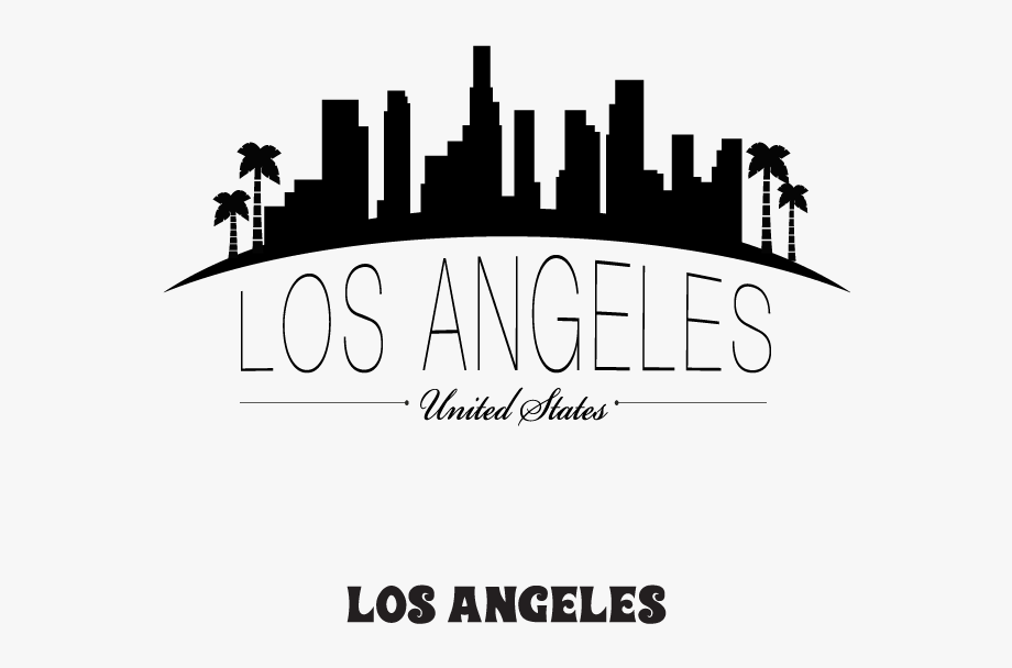 Los Angeles Silhouette Png Los Angeles City Drawing