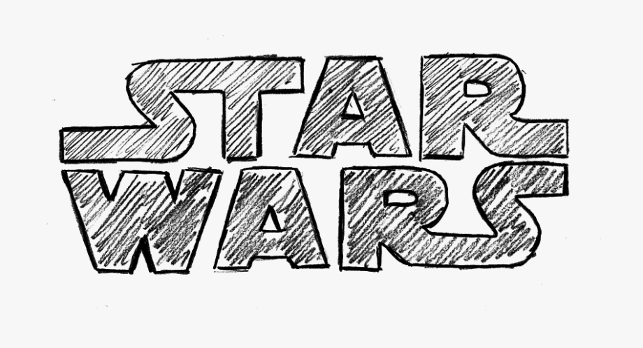 The Star Wars Simple Star Wars Drawings Transparent