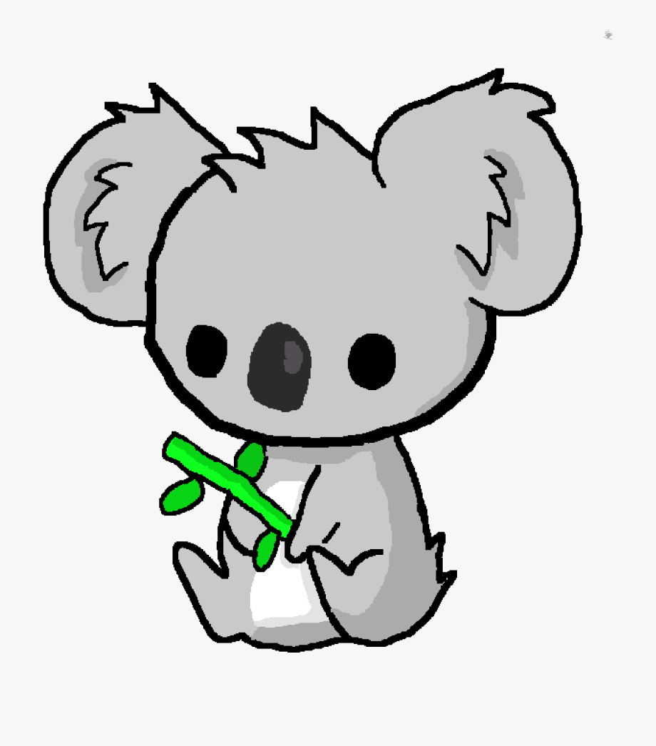 Cute Kawaii Koala - Kawaii Cute Koala Drawing ...
