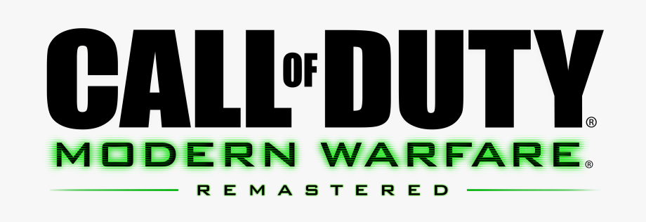 Call Of Duty Logo Png Cod Mw Remastered Logo Transparent