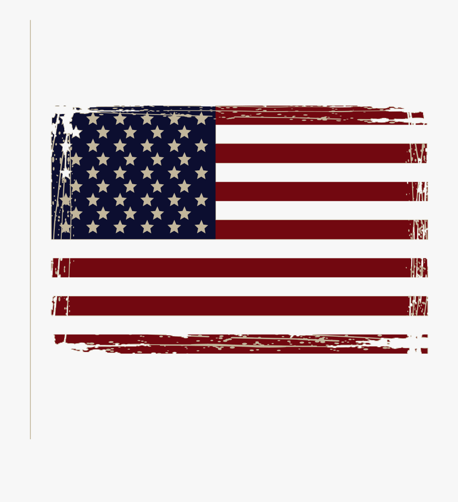 American flag distressed. Png transparent cartoon free