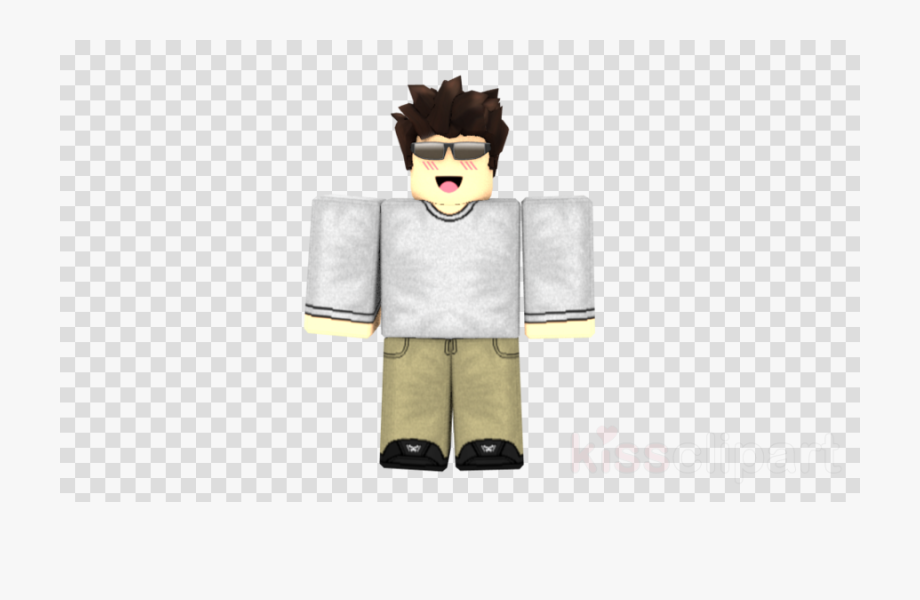 Cartoon Clipart Roblox Character Boy Number 2 With Clear