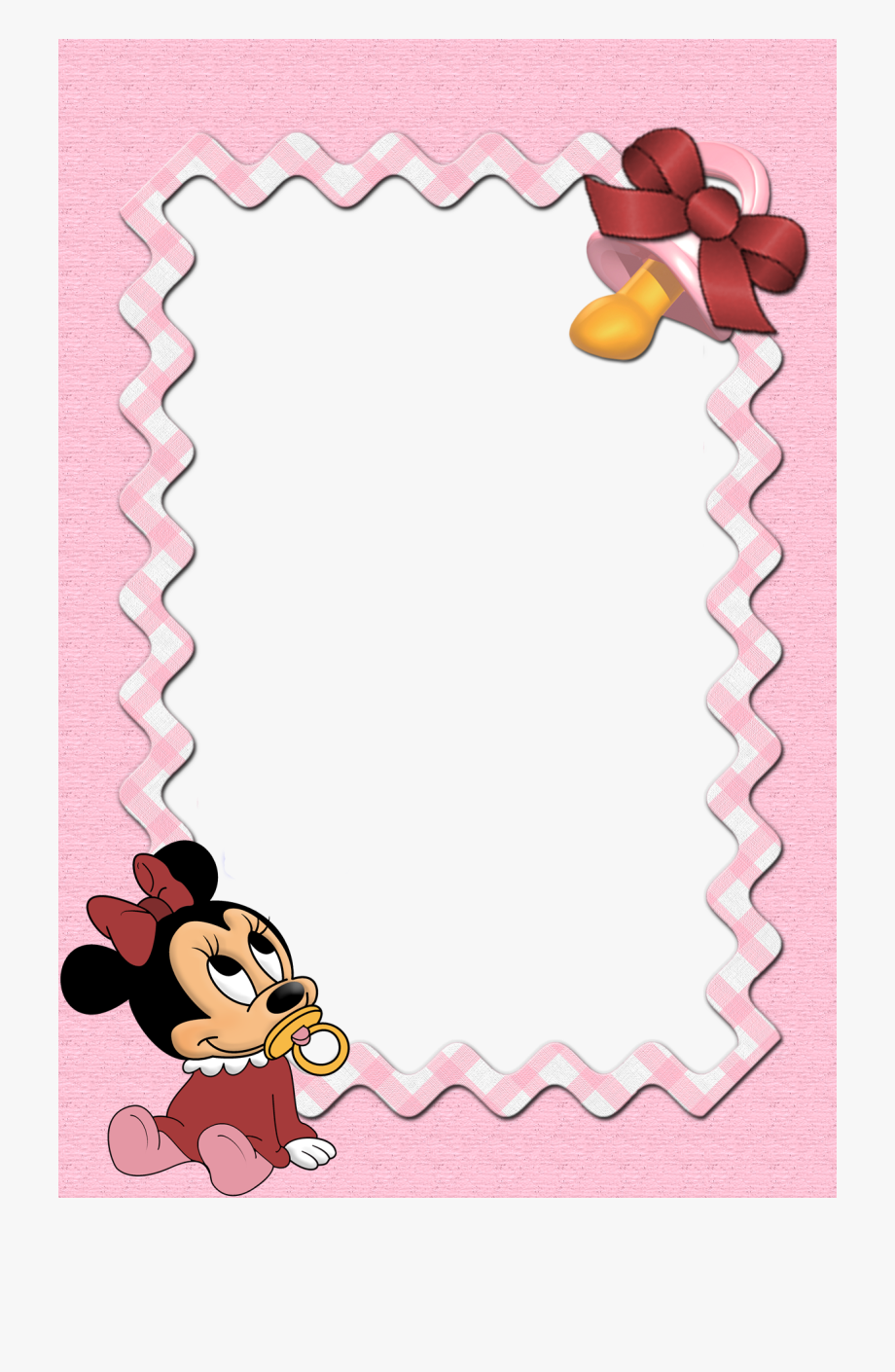 Disney Babies Clip Art Minnie Mouse Borders And Frames