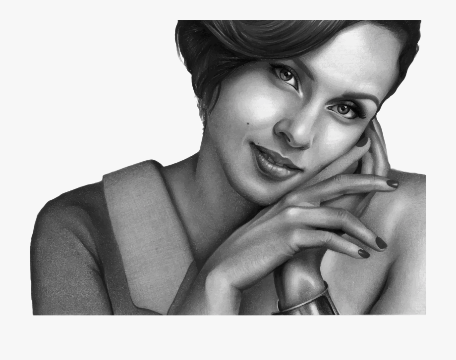 Alicia Keys Clipart Creative Cute Girl Pencil Sketches