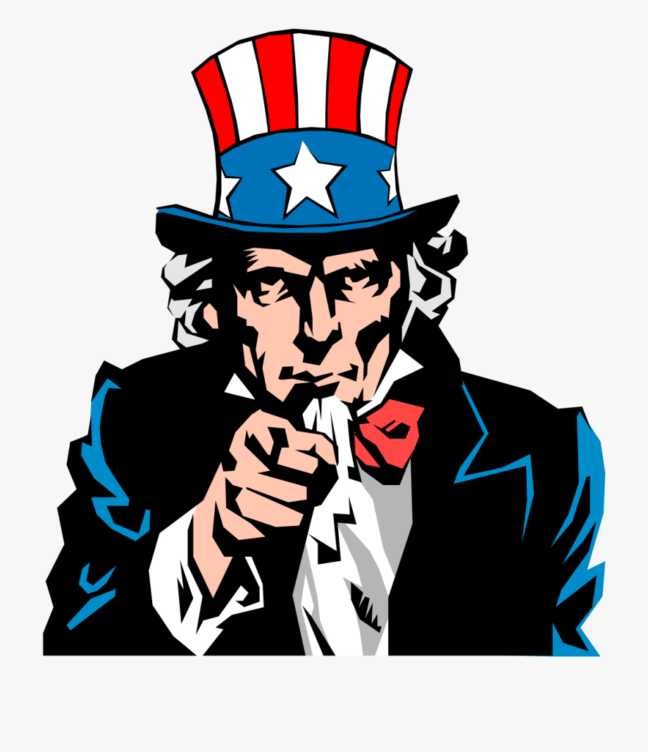 Uncle Sam Clipart Money - American We Want You Poster ...