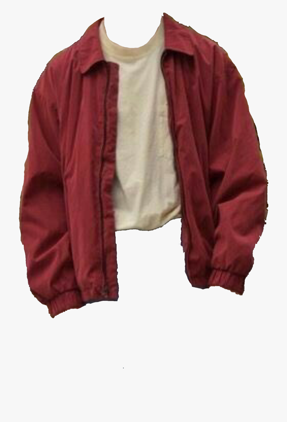 Red Jacket Polyvore Red Jacket Aesthetic Transparent