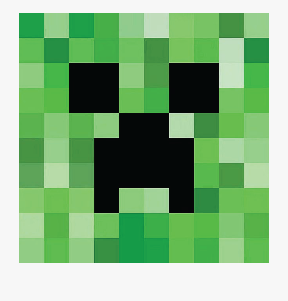 It is an image of Ambitious Minecraft Creeper Face Printable