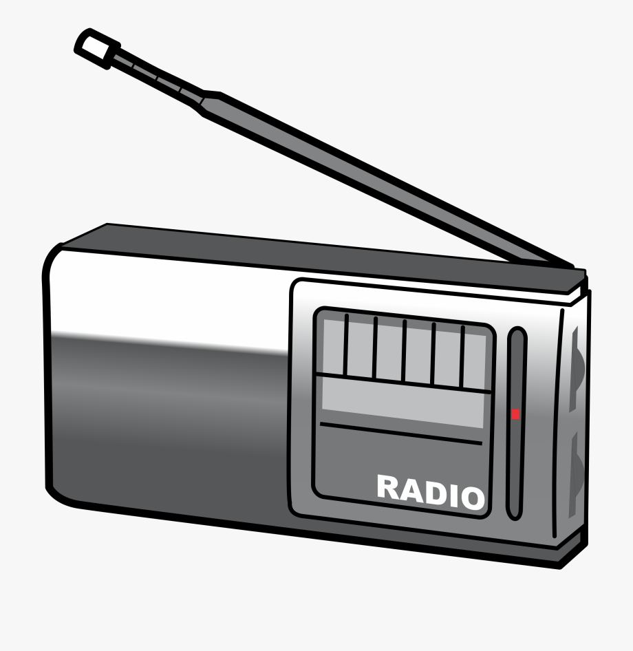 Radio Clipart - Clip Art Of Radio , Transparent Cartoon, Free Cliparts &  Silhouettes - NetClipart