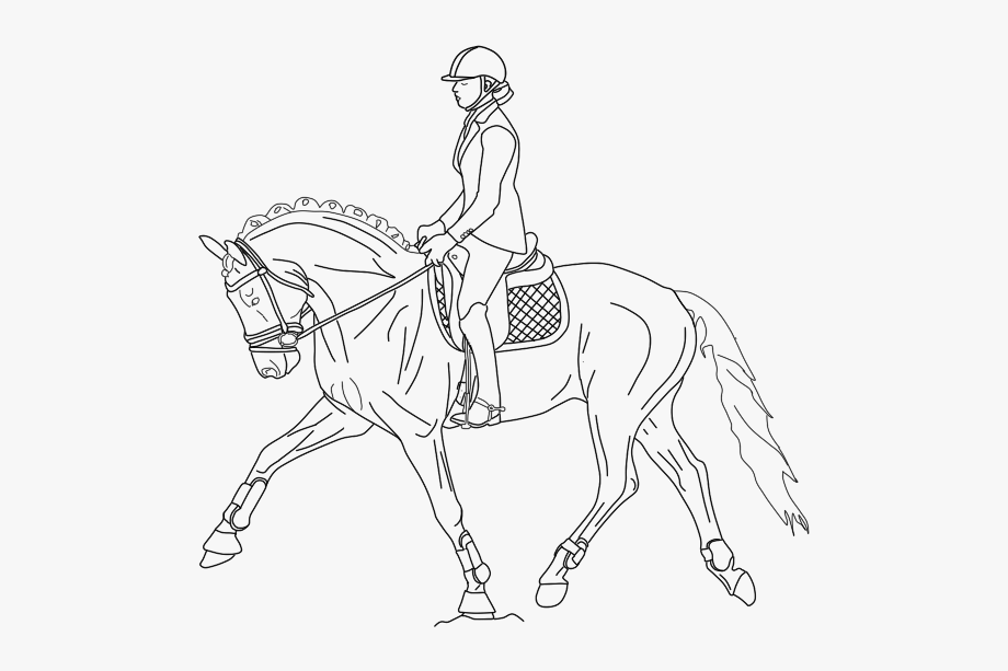 Galloping wild horse coloring pages - Hellokids.com | 613x920