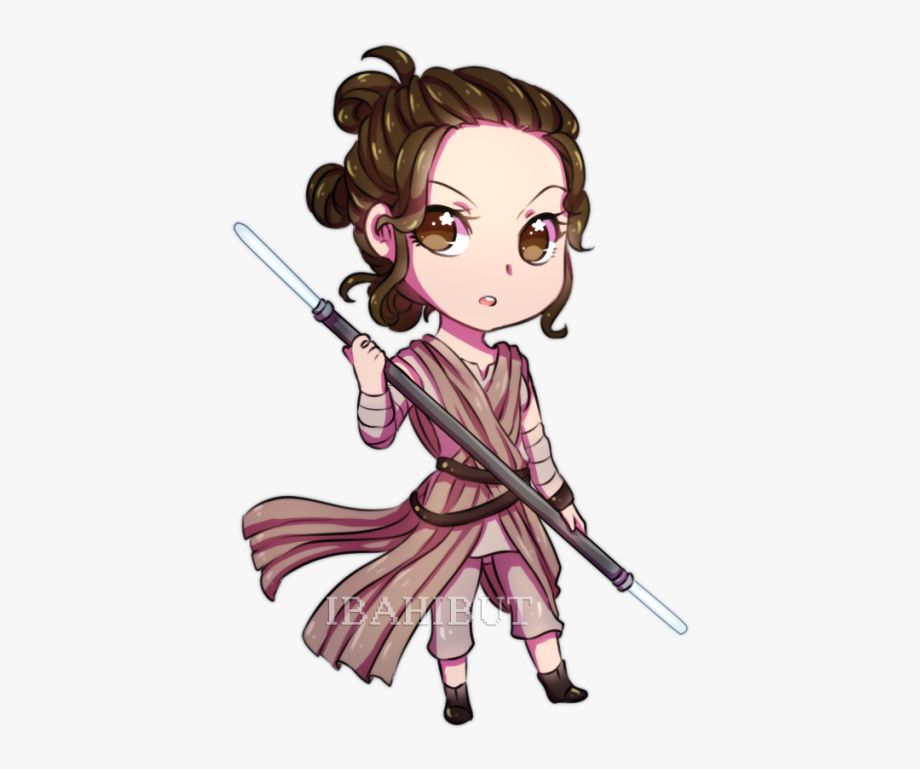 Rey Star Wars Cartoon Transparent Cartoon Free Cliparts