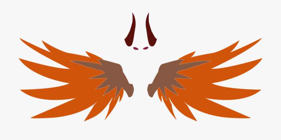 Devil Clipart Wings Overwatch Mercy Wings Png Transparent
