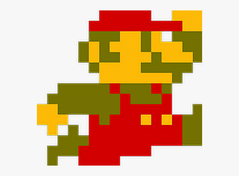 super mario bros 3 bowser pixel art
