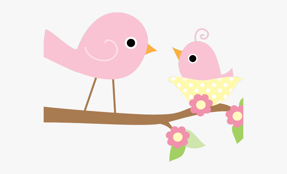 Bird Clipart Mommy Its A Girl Baby Transparent Cartoon Free Cliparts Silhouettes Netclipart