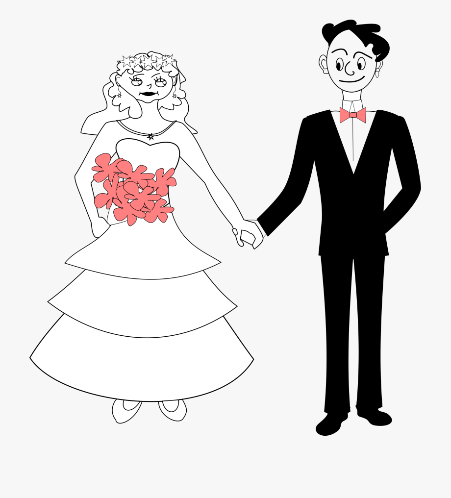 Animasi Pengantin Laki Laki Transparent Cartoon Free Cliparts Silhouettes Netclipart
