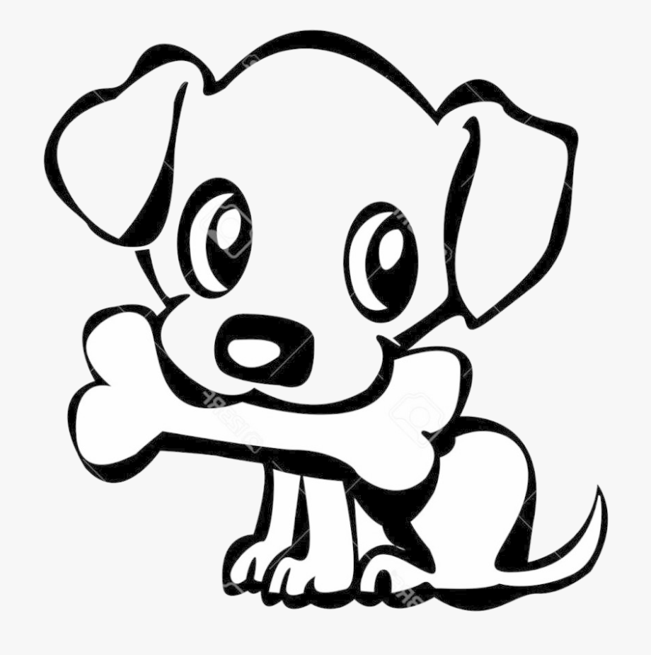 Easy Dog Clipart Free Best On Transparent Png Draw A Puppy