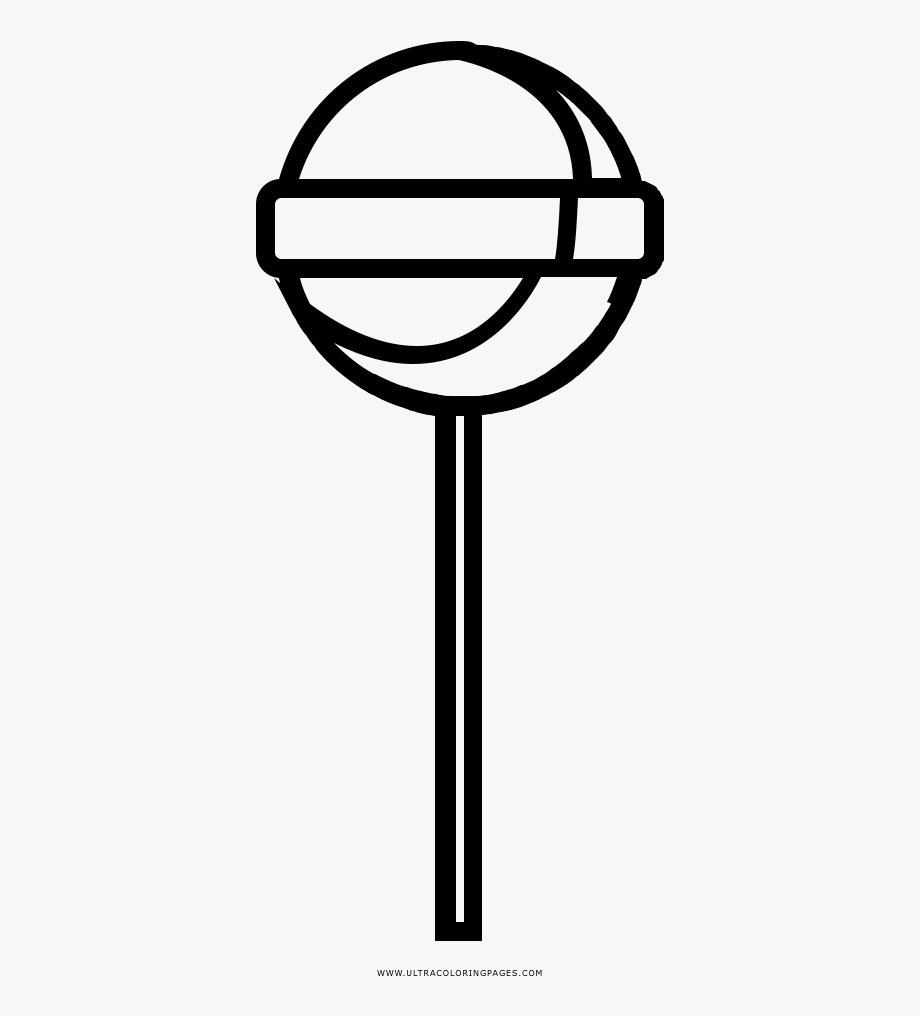 - Lollipop Coloring Page - Lollipop , Transparent Cartoon, Free