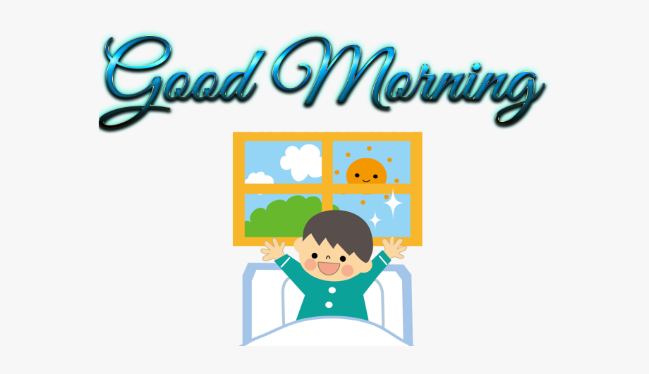 Free Good Morning Clipart Good Morning Sticker Whatsapp