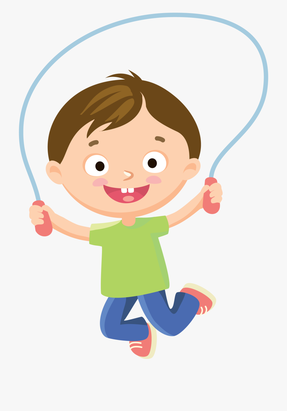 Boy Jump Roping Cartoon Transparent Cartoon Free Cliparts Silhouettes Netclipart