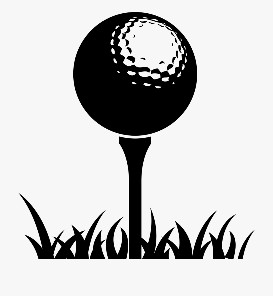 Golf Balls Golf Course Golf Tees Golf Ball On Tee Clipart Transparent Cartoon Free Cliparts Silhouettes Netclipart