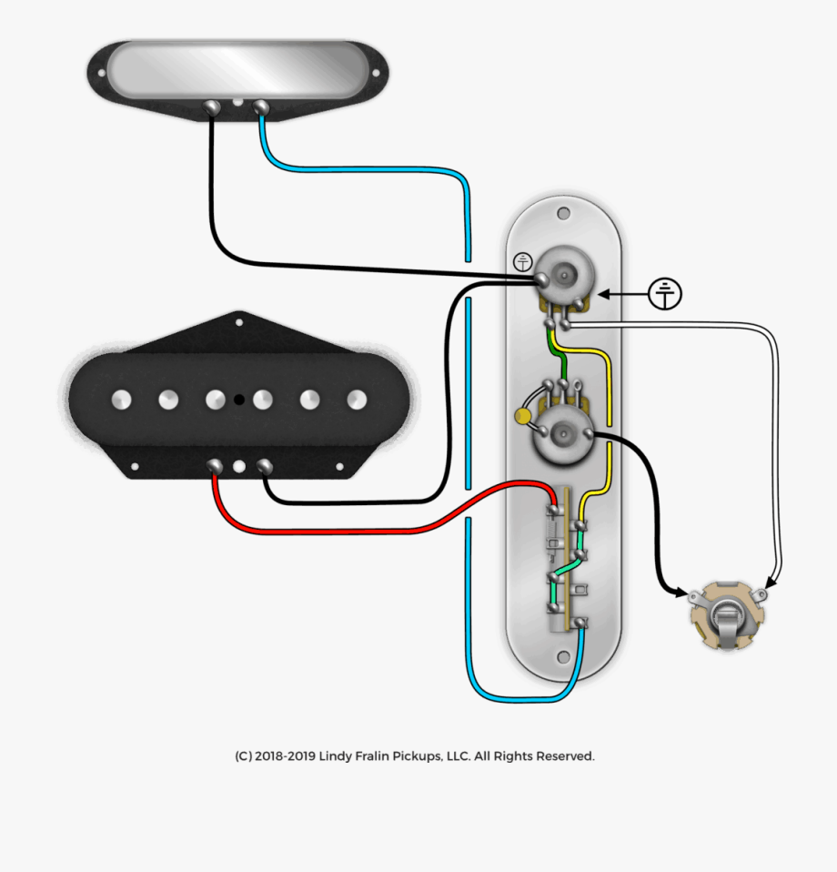 Telecaster Wiring Diagram   Transparent Cartoon  Free