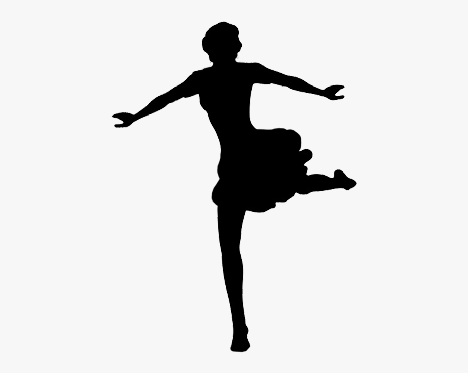 Png Black And White Ballerina Silhouette Clipart Dancer Silhouette No Background Transparent Cartoon Free Cliparts Silhouettes Netclipart