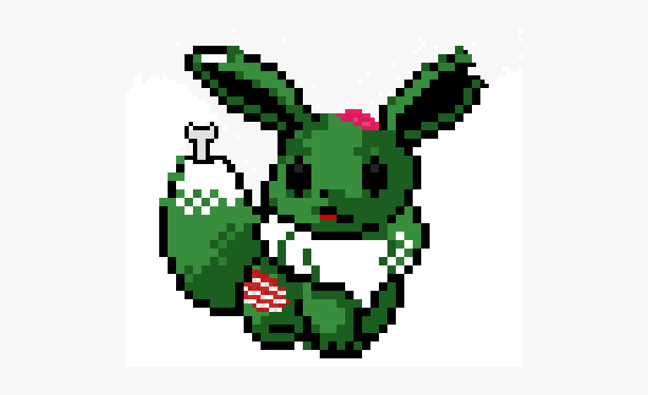 Pixel Pokemon Eevee Transparent Cartoon Free Cliparts