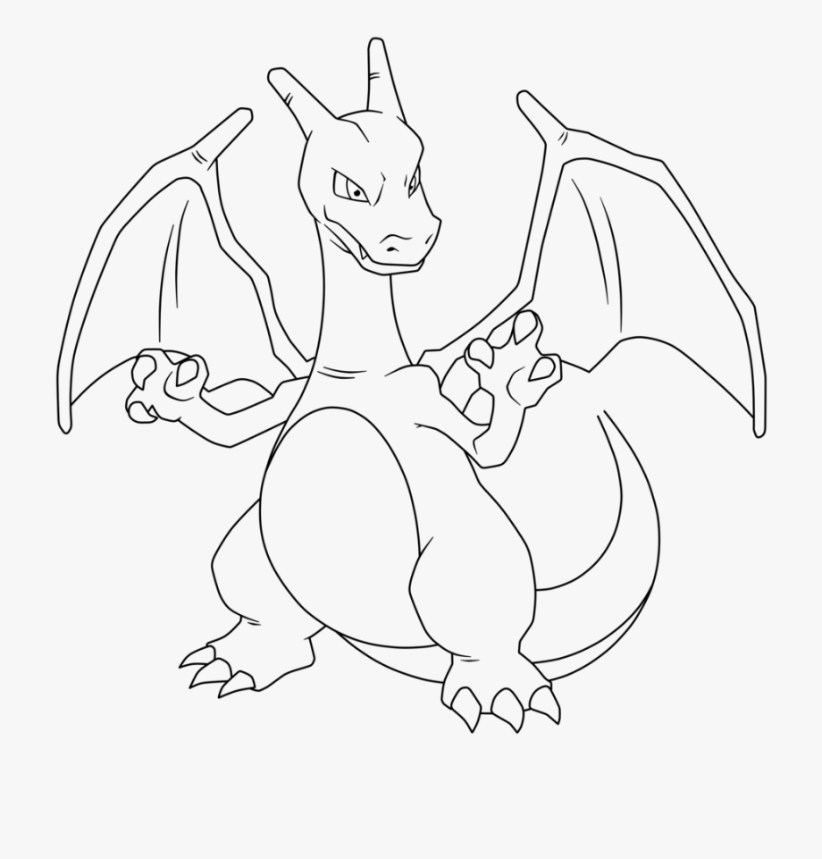 Charizard Coloring Pages Wonderful Pokemon Coloring Pages Mega ... | 961x920