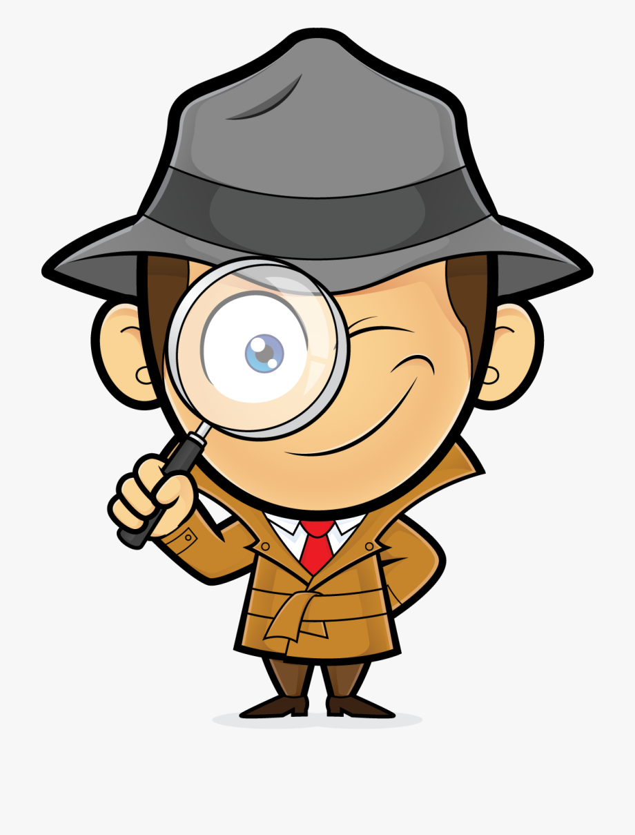 Picture - Magnifying Glass Spy Cartoon , Transparent Cartoon, Free ...
