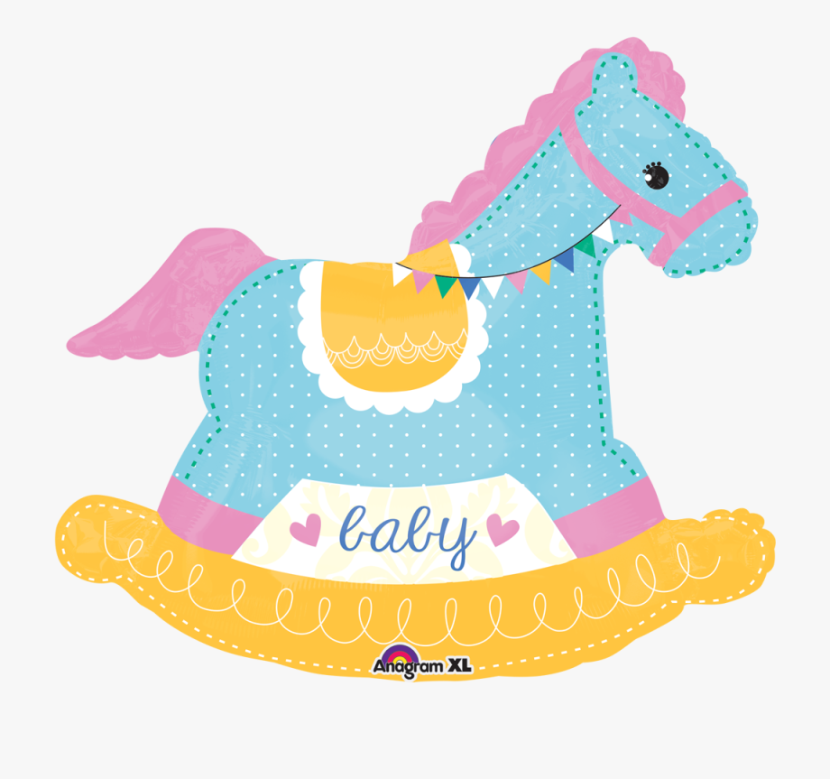 Baby Shower Rocking Horse - Baby Rocking Horse Clipart ...