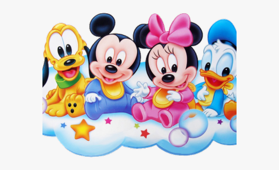 Baby Disney Cartoon Characters - Baby Minnie And Mickey ...