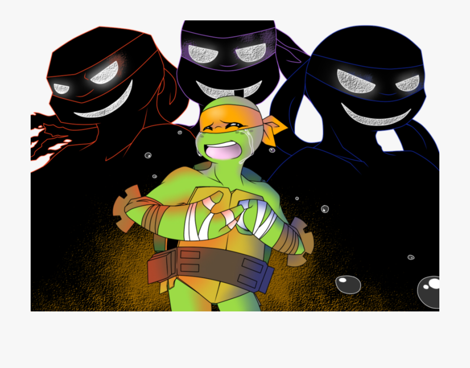 Download Tmnt Fanfiction Mikey Sad Clipart Michaelangelo Tmnt