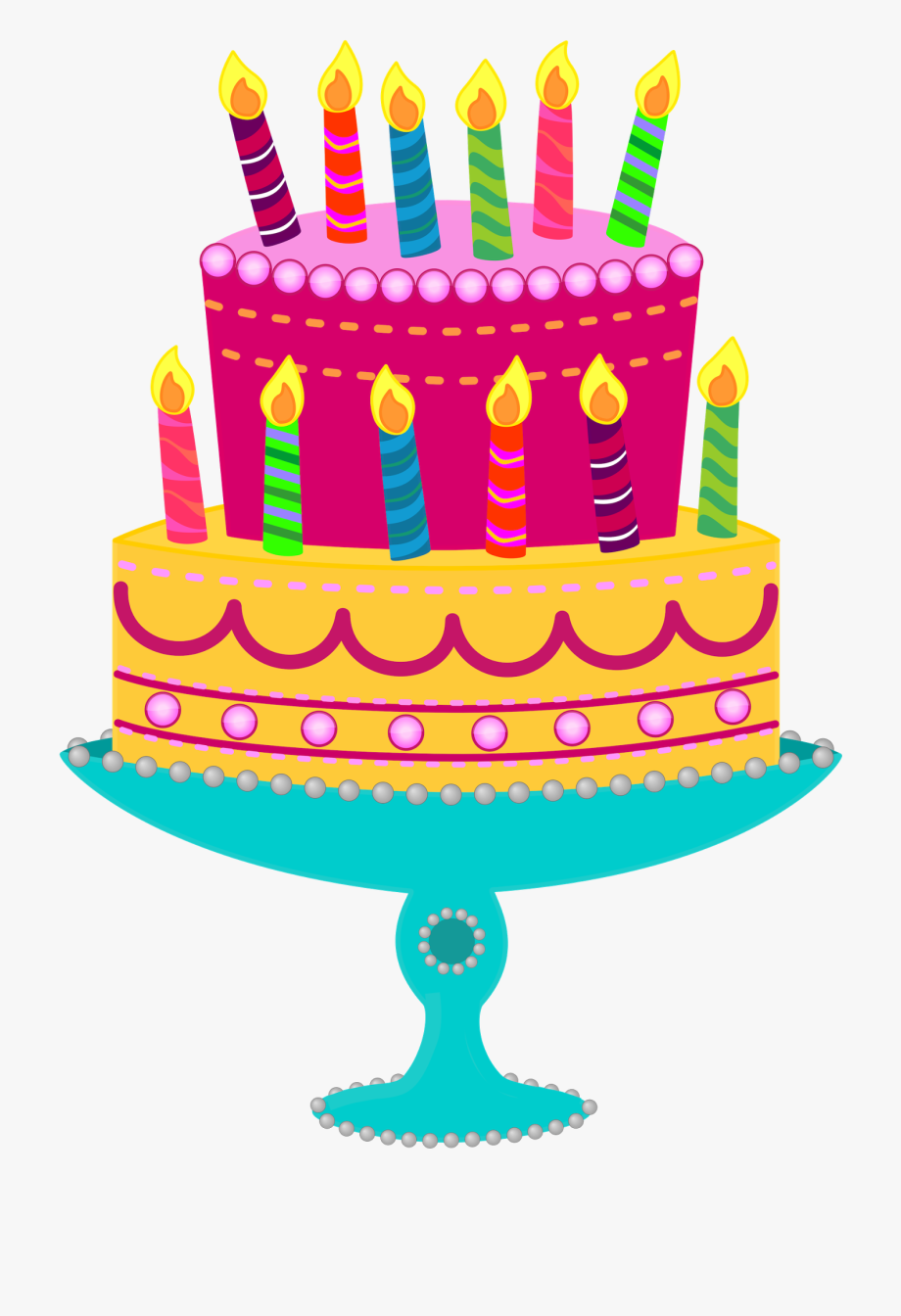 Awesome Simple Free Cake Images Birthday Cake Clip Art Transparent Funny Birthday Cards Online Elaedamsfinfo
