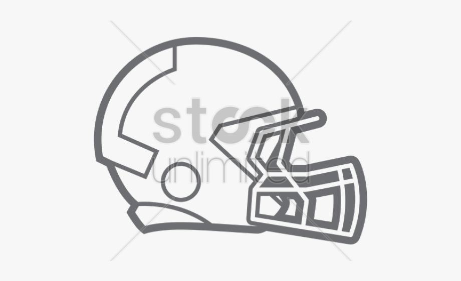 How To Draw A Football Helmet Football Helmet Transparent
