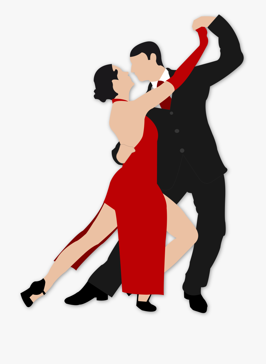 Tango Dance Clip Art Png Download Couples Dancing Transparent Cartoon Free Cliparts Silhouettes Netclipart