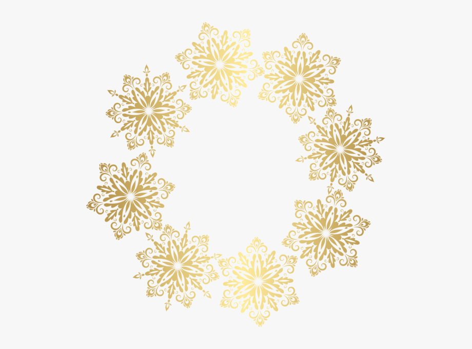Free Png Download Snowflake Frame Transparent Png Images - Transparent  Snowflakes Border Clipart, Png Download - 850x844(#1883194) - PngFind