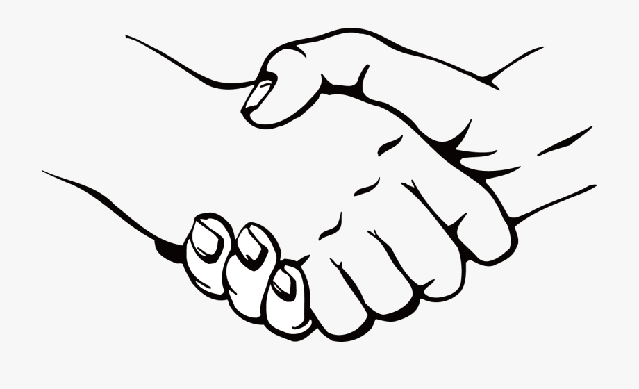 Handshake Cdr Shake Transprent Png Free Download - Hand To Hand Vector ,  Transparent Cartoon, Free Cliparts & Silhouettes - NetClipart